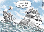 Cartoonist Nick Anderson  Nick Anderson's Editorial Cartoons 2009-10-15 bail