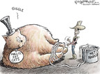 Cartoonist Nick Anderson  Nick Anderson's Editorial Cartoons 2010-01-20 finance investment