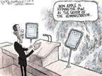Cartoonist Nick Anderson  Nick Anderson's Editorial Cartoons 2010-01-27 apple