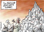 Cartoonist Nick Anderson  Nick Anderson's Editorial Cartoons 2010-04-13 nuclear proliferation