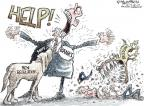 Cartoonist Nick Anderson  Nick Anderson's Editorial Cartoons 2010-07-18 recession
