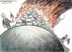 Cartoonist Nick Anderson  Nick Anderson's Editorial Cartoons 2010-09-08 military
