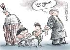 Cartoonist Nick Anderson  Nick Anderson's Editorial Cartoons 2010-12-09 South Korea