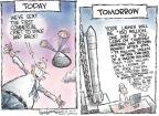 Cartoonist Nick Anderson  Nick Anderson's Editorial Cartoons 2010-12-10 flight