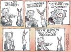 Cartoonist Nick Anderson  Nick Anderson's Editorial Cartoons 2011-04-08 government shutdown