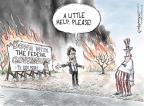 Cartoonist Nick Anderson  Nick Anderson's Editorial Cartoons 2011-04-16 assistance
