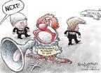 Cartoonist Nick Anderson  Nick Anderson's Editorial Cartoons 2011-05-18 megaphone