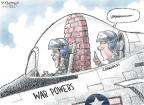 Cartoonist Nick Anderson  Nick Anderson's Editorial Cartoons 2011-06-19 war powers act