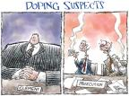 Cartoonist Nick Anderson  Nick Anderson's Editorial Cartoons 2011-07-15 Major League Baseball