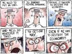 Cartoonist Nick Anderson  Nick Anderson's Editorial Cartoons 2011-07-26 economy