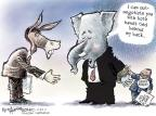 Cartoonist Nick Anderson  Nick Anderson's Editorial Cartoons 2011-11-22 tax pledge