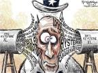 Cartoonist Nick Anderson  Nick Anderson's Editorial Cartoons 2012-01-19 exaggeration