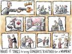 Cartoonist Nick Anderson  Nick Anderson's Editorial Cartoons 2012-01-26 bipartisan