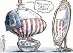 Cartoonist Nick Anderson  Nick Anderson's Editorial Cartoons 2012-05-17 Bush tax cut