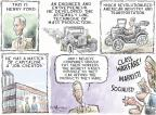 Cartoonist Nick Anderson  Nick Anderson's Editorial Cartoons 2012-05-27 transportation