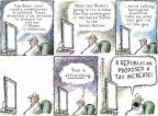 Cartoonist Nick Anderson  Nick Anderson's Editorial Cartoons 2012-08-24 tax increase