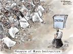 Cartoonist Nick Anderson  Nick Anderson's Editorial Cartoons 2012-10-19 education