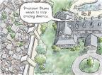 Cartoonist Nick Anderson  Nick Anderson's Editorial Cartoons 2012-10-26 2012 election
