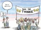 Cartoonist Nick Anderson  Nick Anderson's Editorial Cartoons 2012-11-21 climate