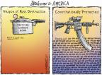 Cartoonist Nick Anderson  Nick Anderson's Editorial Cartoons 2013-04-24 rifle