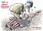 Cartoonist Nick Anderson  Nick Anderson's Editorial Cartoons 2013-10-09 government shutdown