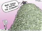 Cartoonist Nick Anderson  Nick Anderson's Editorial Cartoons 2013-12-10 economy