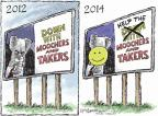 Cartoonist Nick Anderson  Nick Anderson's Editorial Cartoons 2014-01-12 assistance