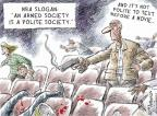 Cartoonist Nick Anderson  Nick Anderson's Editorial Cartoons 2014-01-16 shooter