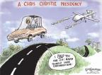 Nick Anderson  Nick Anderson's Editorial Cartoons 2014-01-17 2016 Election Chris Christie