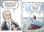 Cartoonist Nick Anderson  Nick Anderson's Editorial Cartoons 2014-04-18 Malaysia Airlines flight 370