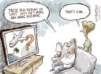 Cartoonist Nick Anderson  Nick Anderson's Editorial Cartoons 2014-04-25 Malaysia Airlines flight 370
