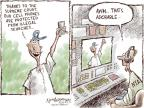 Nick Anderson  Nick Anderson's Editorial Cartoons 2014-06-29 fourth amendment