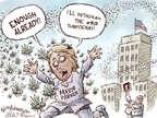 Cartoonist Nick Anderson  Nick Anderson's Editorial Cartoons 2014-10-31 Houston