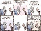 Cartoonist Nick Anderson  Nick Anderson's Editorial Cartoons 2015-02-24 divisive