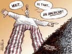 Cartoonist Nick Anderson  Nick Anderson's Editorial Cartoons 2015-04-24 Warren