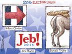Nick Anderson  Nick Anderson's Editorial Cartoons 2015-06-25 2016 election Jeb Bush