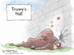 Cartoonist Nick Anderson  Nick Anderson's Editorial Cartoons 2018-12-27 immigration wall