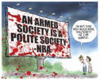 Cartoonist Nick Anderson  Nick Anderson's Editorial Cartoons 2019-08-05 attack