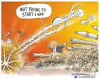Cartoonist Nick Anderson  Nick Anderson's Editorial Cartoons 2020-01-08 attack