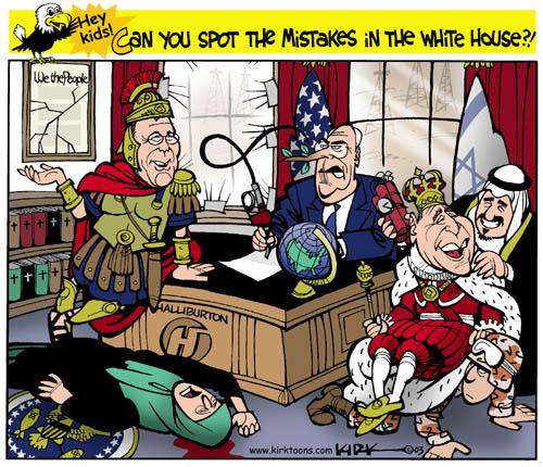 Kirk Anderson  Kirk Anderson's Editorial Cartoons 2003-10-15 Constitution