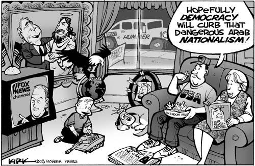 Kirk Anderson  Kirk Anderson's Editorial Cartoons 2003-04-18 journalism