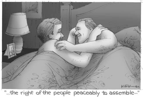 Kirk Anderson  Kirk Anderson's Editorial Cartoons 2003-06-25 Bill of Rights
