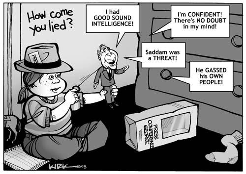Kirk Anderson  Kirk Anderson's Editorial Cartoons 2003-07-28 journalism