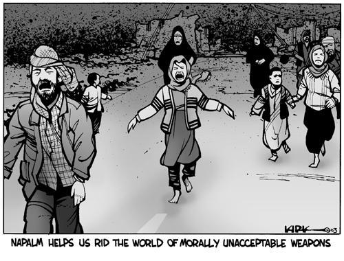 Kirk Anderson  Kirk Anderson's Editorial Cartoons 2003-08-01 road