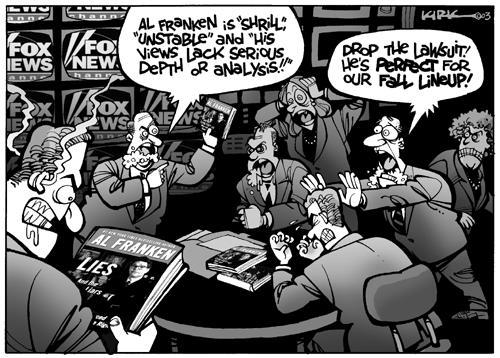 Kirk Anderson  Kirk Anderson's Editorial Cartoons 2003-08-08 journalism
