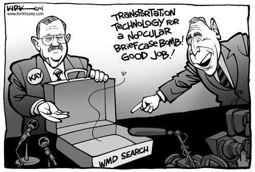 Cartoonist Kirk Anderson  Kirk Anderson's Editorial Cartoons 2004-01-27 technology