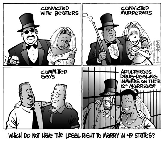Kirk Anderson  Kirk Anderson's Editorial Cartoons 2004-07-01 equal rights