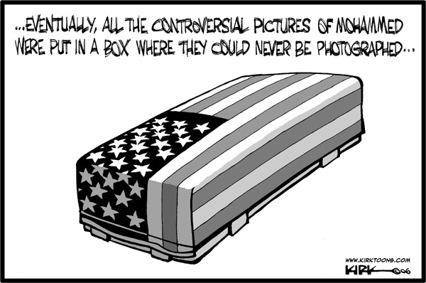 Kirk Anderson  Kirk Anderson's Editorial Cartoons 2006-05-02 freedom of the press