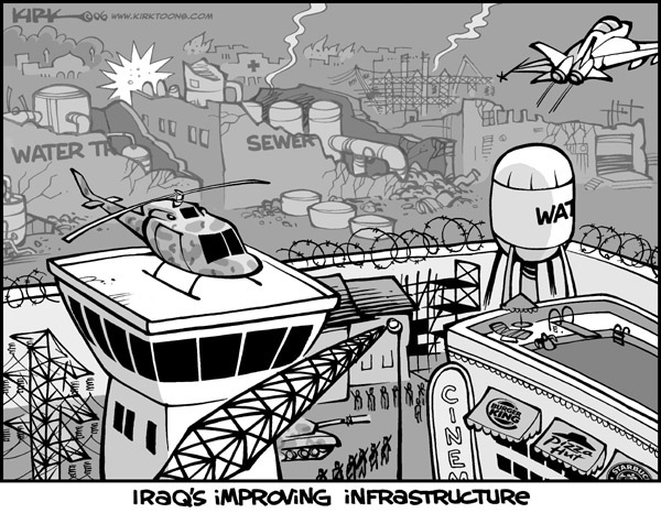 Kirk Anderson  Kirk Anderson's Editorial Cartoons 2006-05-04 infrastructure