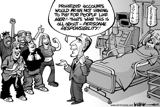 Kirk Anderson  Kirk Anderson's Editorial Cartoons 2005-01-05 economy